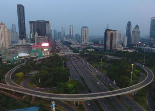 Jakarta Indonesia - CBD - May 2020 - Bbg